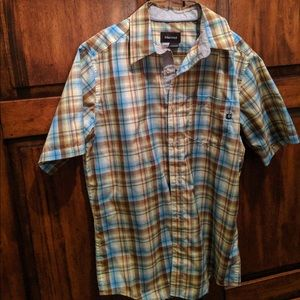 Marmot Men's Button Down Shirt Size Small Plaid